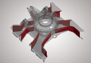 徐工小型挖掘机的X架底盘系统