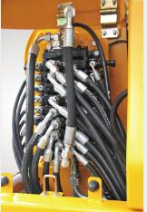 徐工6t小型液压挖掘机的液压敏感系统