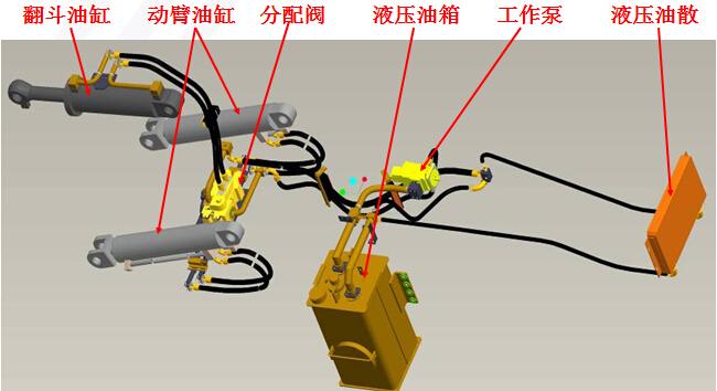 液压平台限位器接线图
