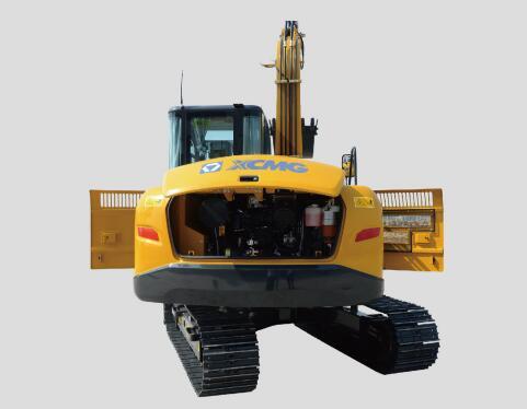 徐工75D挖掘机方便的维修保养设计