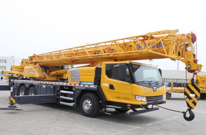 徐工xct35起重机 新型徐工35吨吊车 河南销售热线:4009903710