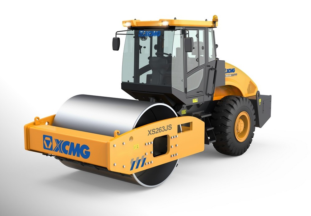 XS263JS机械单钢轮压路机